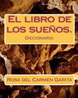 Cover of the book El libro de los suenos : diccionario