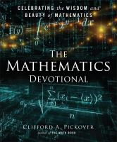 The mathematics devotional : celebrating the wisdom and beauty of mathematics