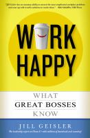 Work Happy book cover
