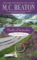 Death of yesterday [text (large print)]