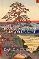 Cover of the book The thousand autumns of Jacob De Zoet