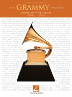 The Grammy Awards : song of the year 1958-1969.