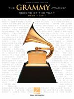 The Grammy Awards : record of the year 1958-2011.