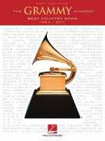 The Grammy Awards : best country song : 1964-2011.