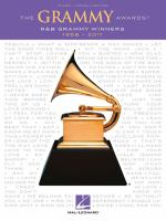 The Grammy Awards : R &amp; B Grammy winners,1958-2011.
