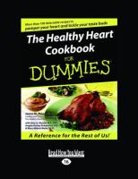 The Healthy Heart Cookbook for Dummies