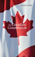 book cover The Canadian Consitution