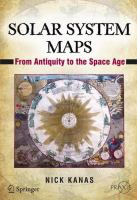 Solar system maps : from antiquity to the space age
