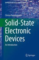 Solid-state electronic devices : an introduction