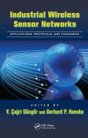 Industrial wireless sensor networks [electronic resource] : applications, protocols, and standards