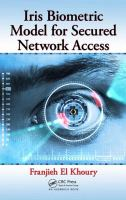 Iris biometric model for secured network access [electronic resource]