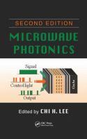 Microwave photonics [electronic resource]