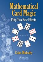 Mathematical card magic : fifty-two new effects