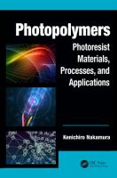 Photopolymers [electronic resource] : photoresist materials, processes, and applications