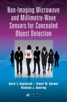 Non-imaging microwave and millimetre-wave sensors for concealed object detection [electronic resource]