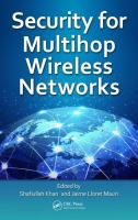Security for multihop wireless networks [electronic resource]