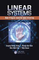 Linear systems [electronic resource] : non-fragile control and filtering