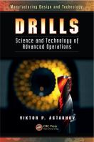 Drills [electronic resource] : science and technology of advanced operations