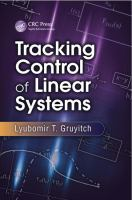 Tracking control of linear systems [electronic resource]