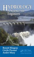 Hydrology [electronic resource] : a science for engineers