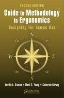 Guide to methodology in ergonomics : designing for human use