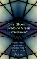 Power efficiency in broadband wireless communications [electronic resource]