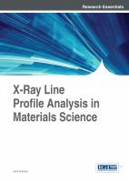X-ray line profile analysis in materials science
