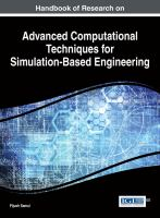Handbook of research on advanced computational techniques for simulation-based engineering