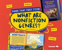 What Are Nonfiction Genres?