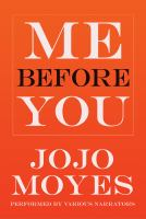 Cover of the book Me before you