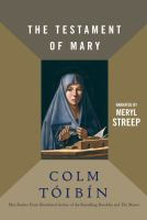 Cover of the book The testament of Mary