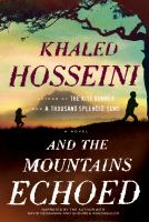 Cover of the book And the mountains echoed