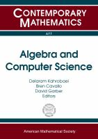 Algebra and computer science /