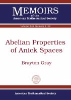 Abelian properties of Anick spaces /