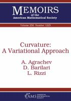 Curvature : a variational approach /