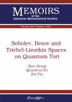 Sobolev, Besov and Triebel-Lizorkin spaces on quantum tori /