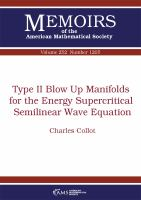 Type II blow up manifolds for the energy supercritical semilinear wave equation /