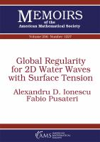 Global regularity for 2D water waves with surface tension /