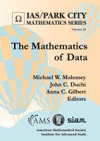 Mathematics of data /