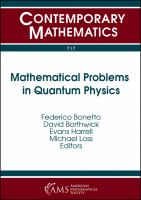 Mathematical problems in quantum physics : QMATH13 : Mathematical results in quantum physics, October 8-11, 2016, Georgia Institute of Technology, Atl