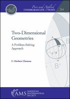 Two-dimensional geometries : a problem-solving approach /