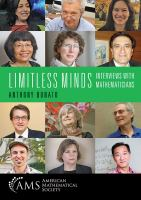 Limitless minds : interviews with mathematicians /