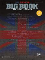 The new guitar tab big book : British rock.