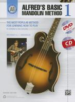Alfred's basic mandolin method. 1 : the most popular method for learning how to play