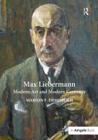 Max Liebermann : modern art and modern Germany