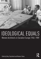 women architects in socialist Europe 1945-1989