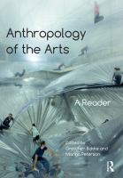 Anthropology of the arts : a reader