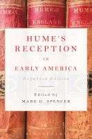 Hume's reception in early America /