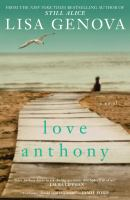 Love anthony - Book Cover Image