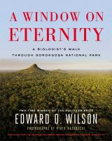 book cover: A window on eternity